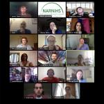 Screen capture of final 2020 NARNiHS Research Incubator discussion
